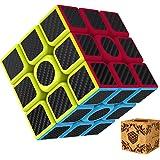Rubik's Cube 3x3 Splaks Vitesse Cube de Magique sans Autocollant Spin Lisse Super Durable avec des Couleurs Vives pour un Jeu de Formation sur le Cerveau ou un Cadeau de Vacances