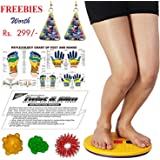 Super India Store Tummy Trimmer Acupressure Twister (Pyramids n Magnets) + Health Products + Ear Ring