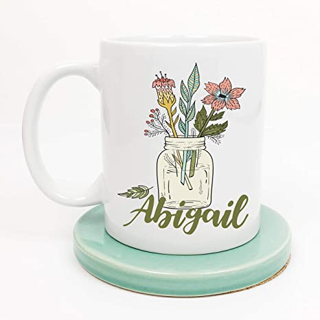 Amazon Personalized Floral Mug Gift For Wife Her