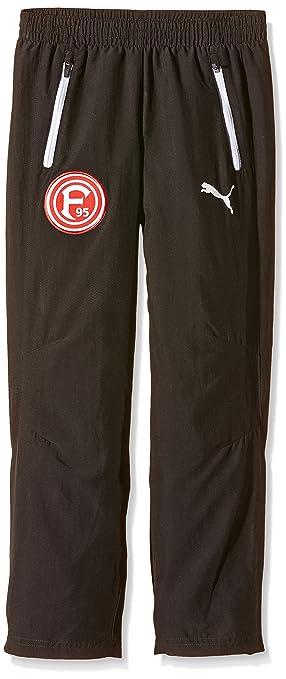Puma Fortuna Düsseldorf Modèle Loisir Pantalon de Sport pour Homme 8 Ans  Noir - Noir  27b6ca25610