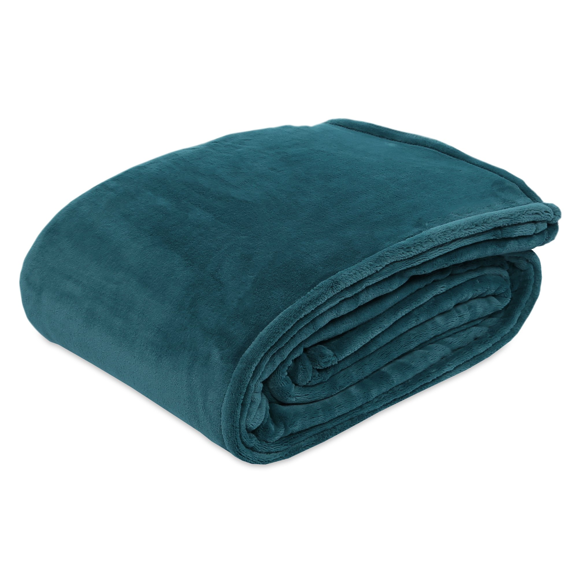 Berkshire Blanket Primalush Bed Blanket, Twin, Atlantic Blue