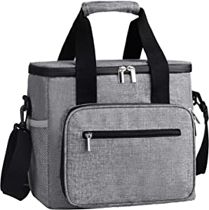 DYD Collapsible Cooler Bag/Lunch Bag Insulated Leakproof Soft Cooler Portable Cooler Tote for Beach/Picnic/Sports More