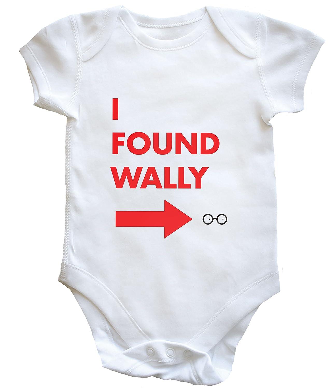 Hippowarehouse I Found Wally Baby Vest Boys Girls
