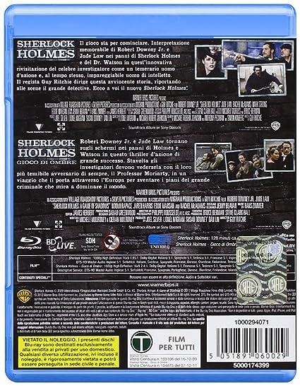 Sherlock Holmes Sherlock Holmes Gioco Di Ombre Blu Ray