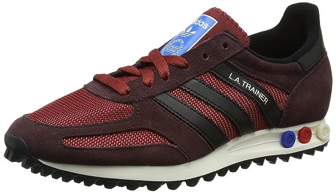 adidas Trainer OG, Scarpe da Corsa Uomo, Multicolore (Night Cargo F15/Ftwr White/Core Black), 47 1/3 EU