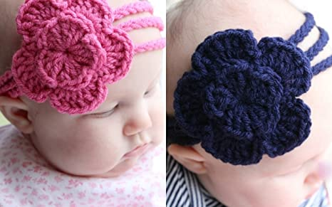 Buy Love Crochet Art Crochet Baby Headband Hair Band For Baby Girl