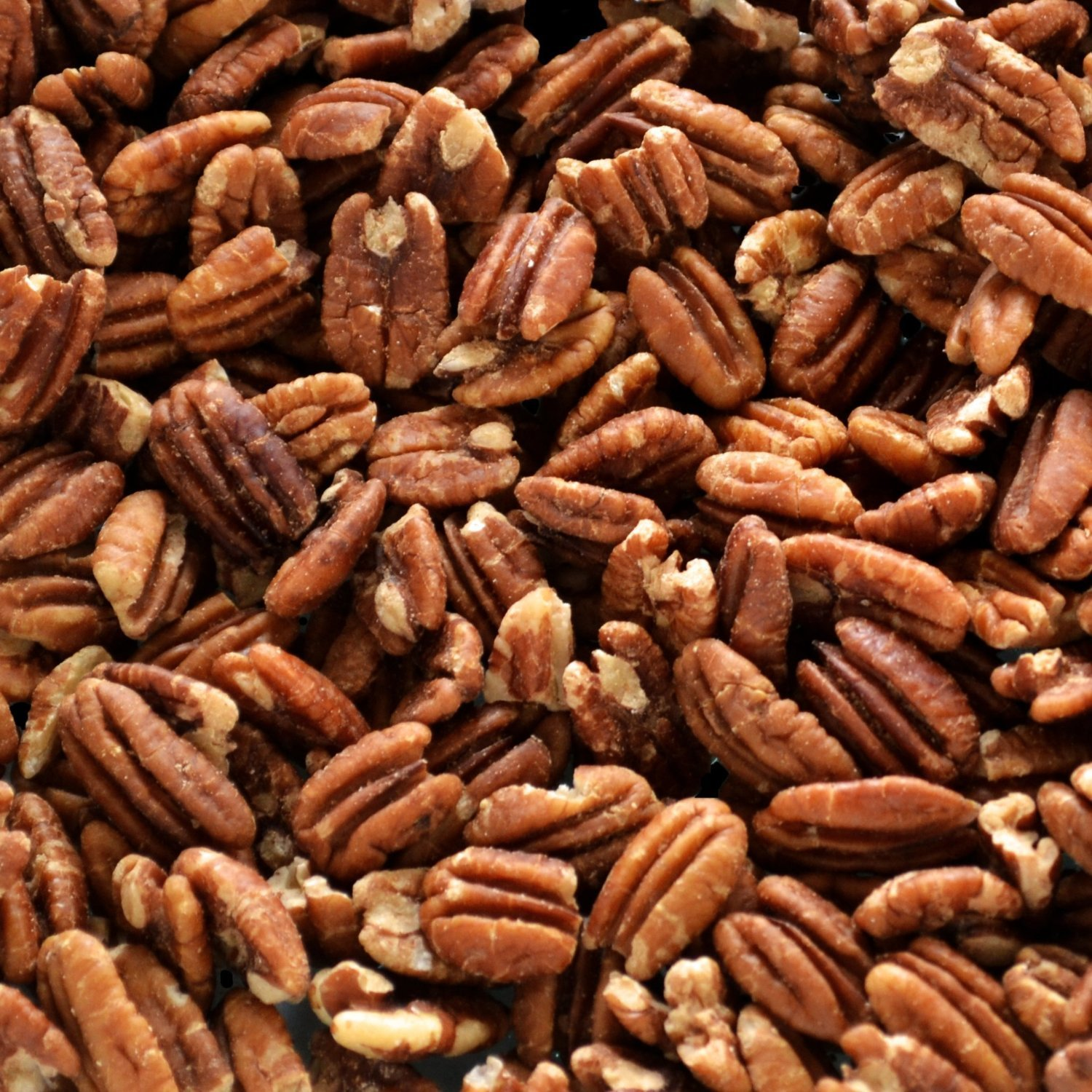 Native Pecan Halves, Family Recipe Crispy, Soaked and Dried with Sea Salt, Bulk 20 Lb.