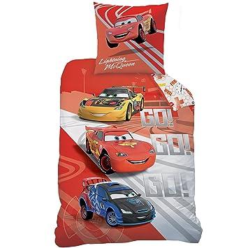 6aa1473930af3f CTI 043657 Cars Go Go Go Housse de Couette 140 x 200 cm et Taie d ...