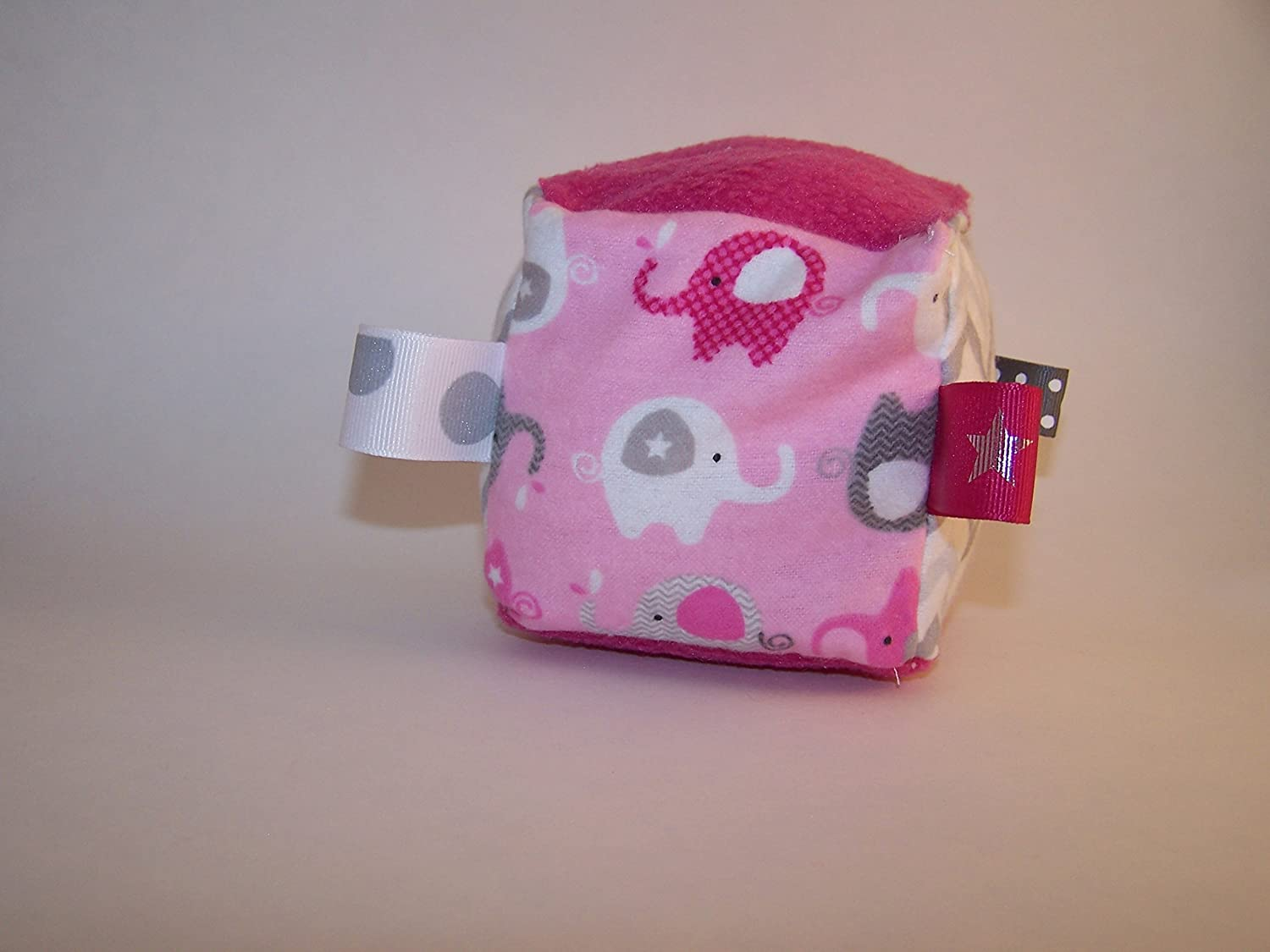 Pink Elephants Jingle Cube