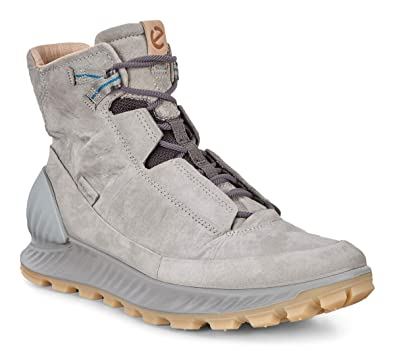 92c51a914b8 ECCO Men's Exostrike Mid Dyneema Outdoor Lifestyle, Fashion, Hiking Boot, wild  dove dyneema