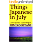 Things Japanese in July: Learn Japanese & Learn English (English Edition)