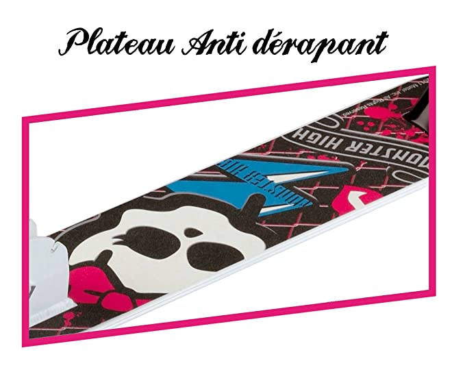 Stamp MO130044 - Patinete Aluminio Monster High