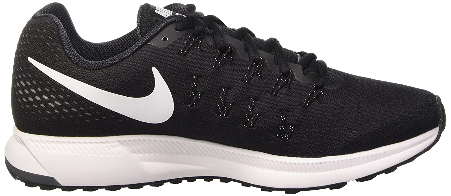 95a9306e878cd Nike Men s Air Zoom Pegasus 33 Black   White Running Shoes (7 UK India)   Buy Online at Low Prices in India - Amazon.in