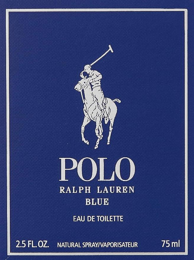 Ralph Lauren Polo Blue Eau de Toilette Vaporizador 75 ml: Amazon.es