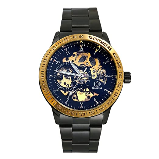 Reloj hombre lancardo reloj pulsera reloj Original Digital correa inoxidable reloj hombre pas barato impermeable negro: Amazon.es: Relojes