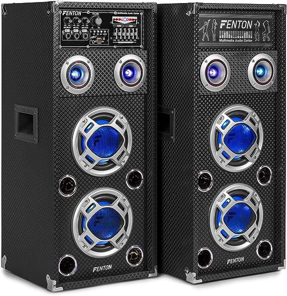 Kit bafle karaoke con luces Skytec KA-06
