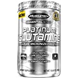 MuscleTech Glutamine, 100% Ultra Pure L-Glutamine, 60-Day Supply, 10.65 oz (302g)