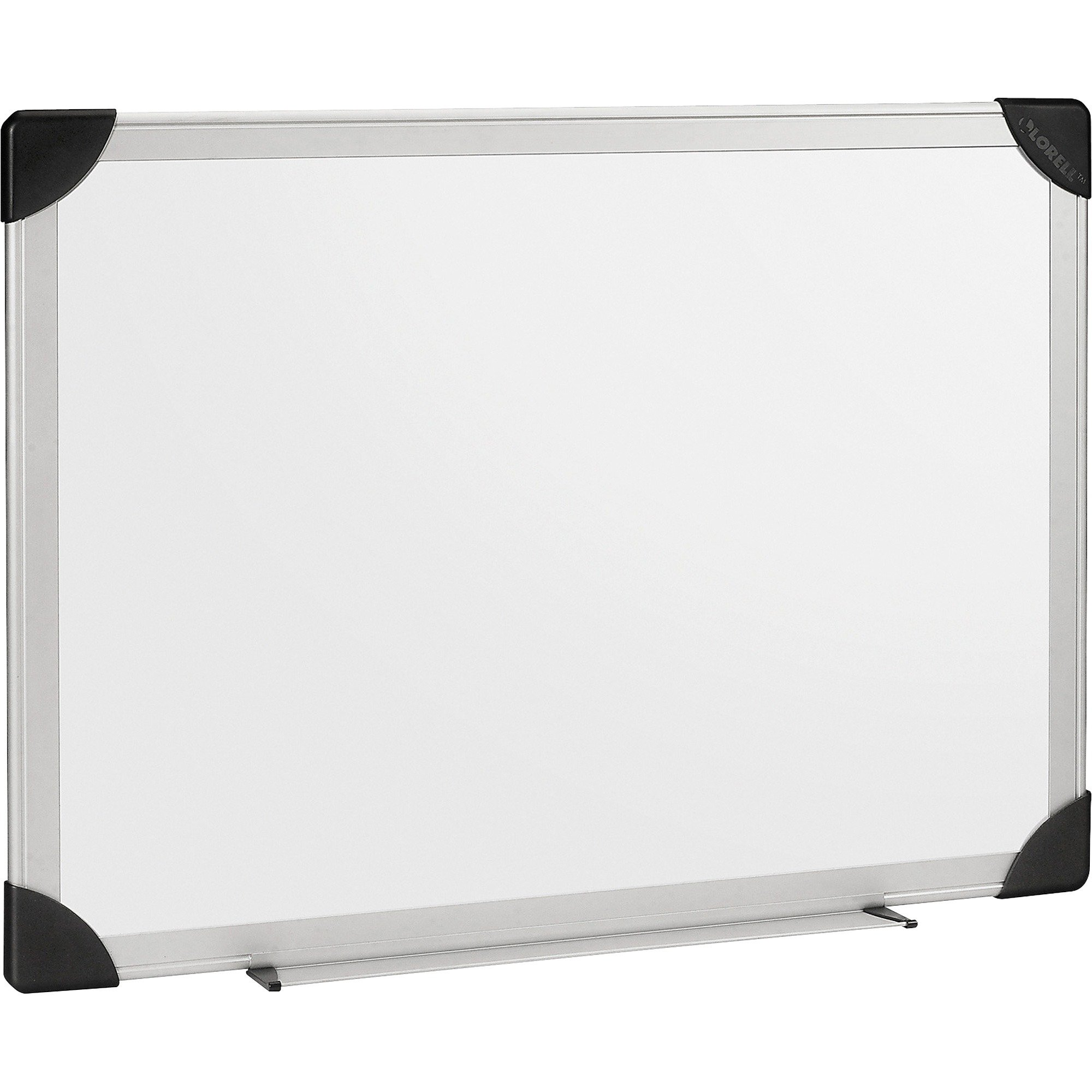Lorell 55653 Dry-Erase Board, 6'x4', Aluminum Frame/White by Lorell