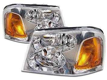81vIL1yWIuL._SX355_ amazon com gmc envoy headlight oe style replacement headlamp