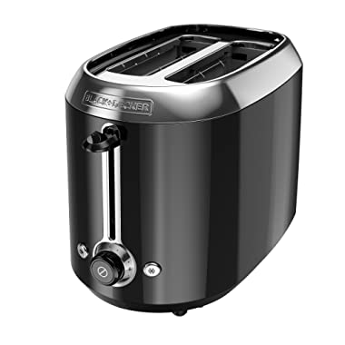 BLACK+DECKER TR1300BD Toaster, Small, Black