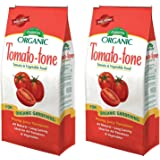 Tomato-tone zEfcHq Organic Fertilizer - FOR ALL YOUR TOMATOES, 2 Pack of Four lb Bags