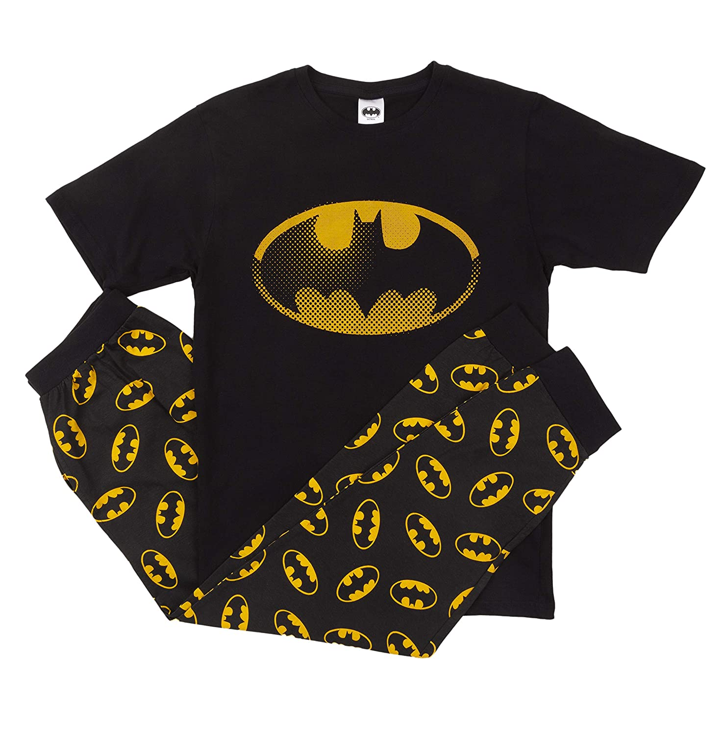 IndieGo Distribution Ltd Mens Batman Pyjamas