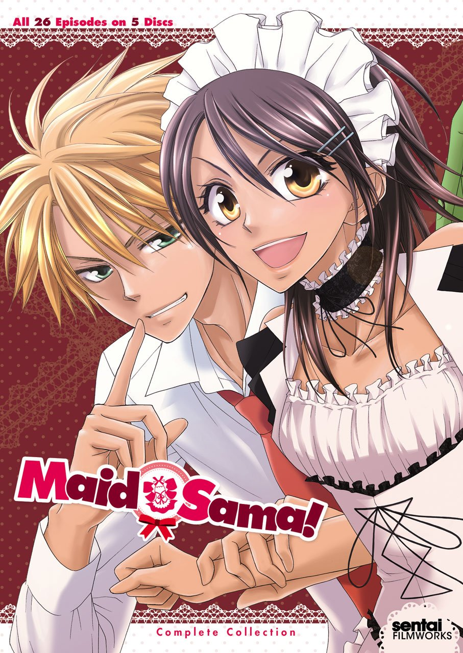 Maid Sama: Complete Collection [DVD] [Import] B008KZX7MK
