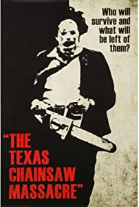 GRYD Texas Chainsaw Massacre Funny Metal Tin Sign Wall Decor,Metal Retro Signs Plaques