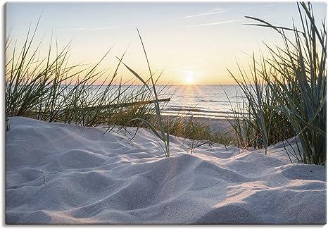 Leinwandbild Kunst-Druck 100x70 Bilder Landschaften Strand
