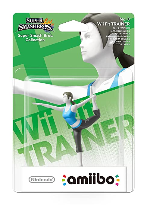 30 opinioni per Amiibo Wii Fit Trainer- Super Smash Bros. Collection