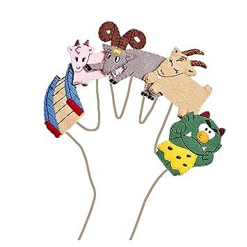 3 billy goats gruff finger puppet templates