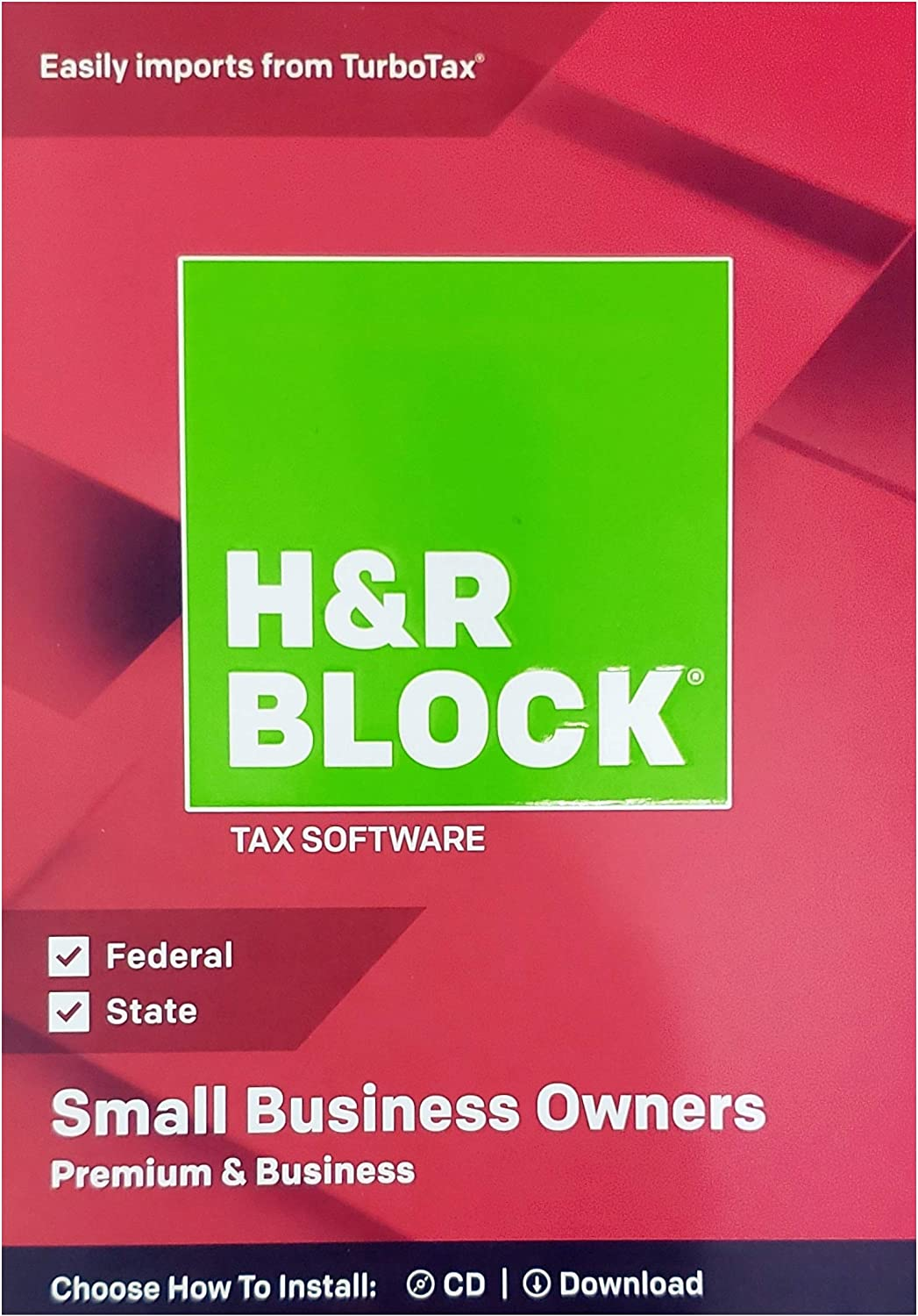 H&R Block Premium & Business 2018 Federal + State Tax Software for Small Business Owners (Windows Vista, 7, 8.1, 10) 81vITojO8eL