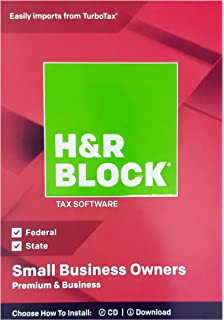 Amazon Com H R Block Tax Software Deluxe State 2018 With 5