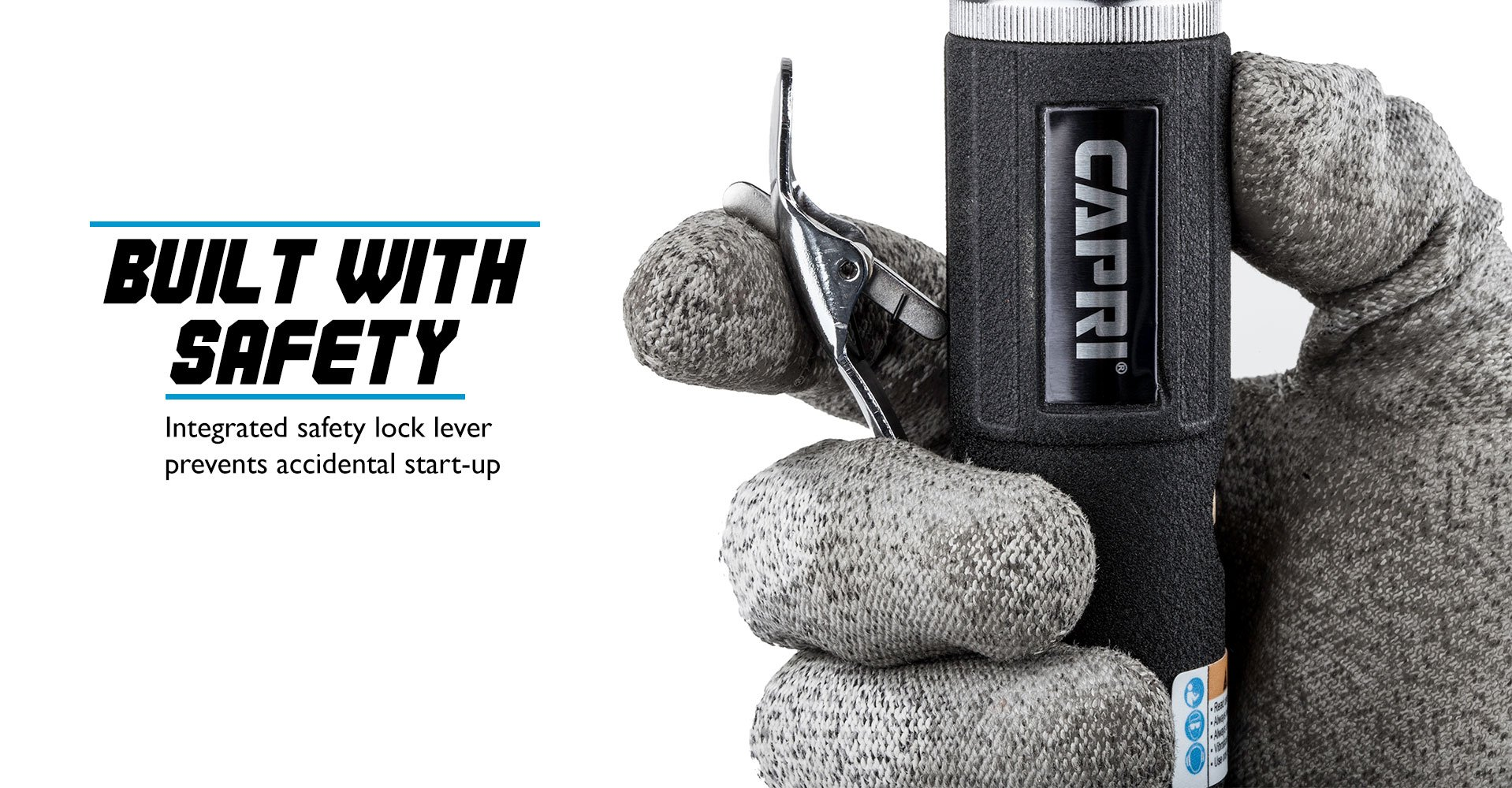 Capri Tools CP32072 Industrial Air Angle Die Grinder, 1/4'' by Capri Tools (Image #5)