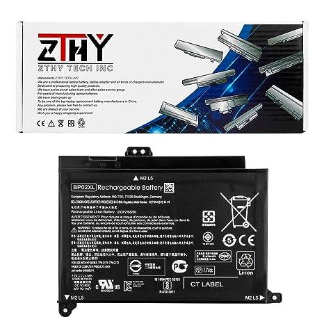 ZTHY BP02XL Laptop Battery for HP Pavilion PC 15 15-AU000 15-AU010WM 15