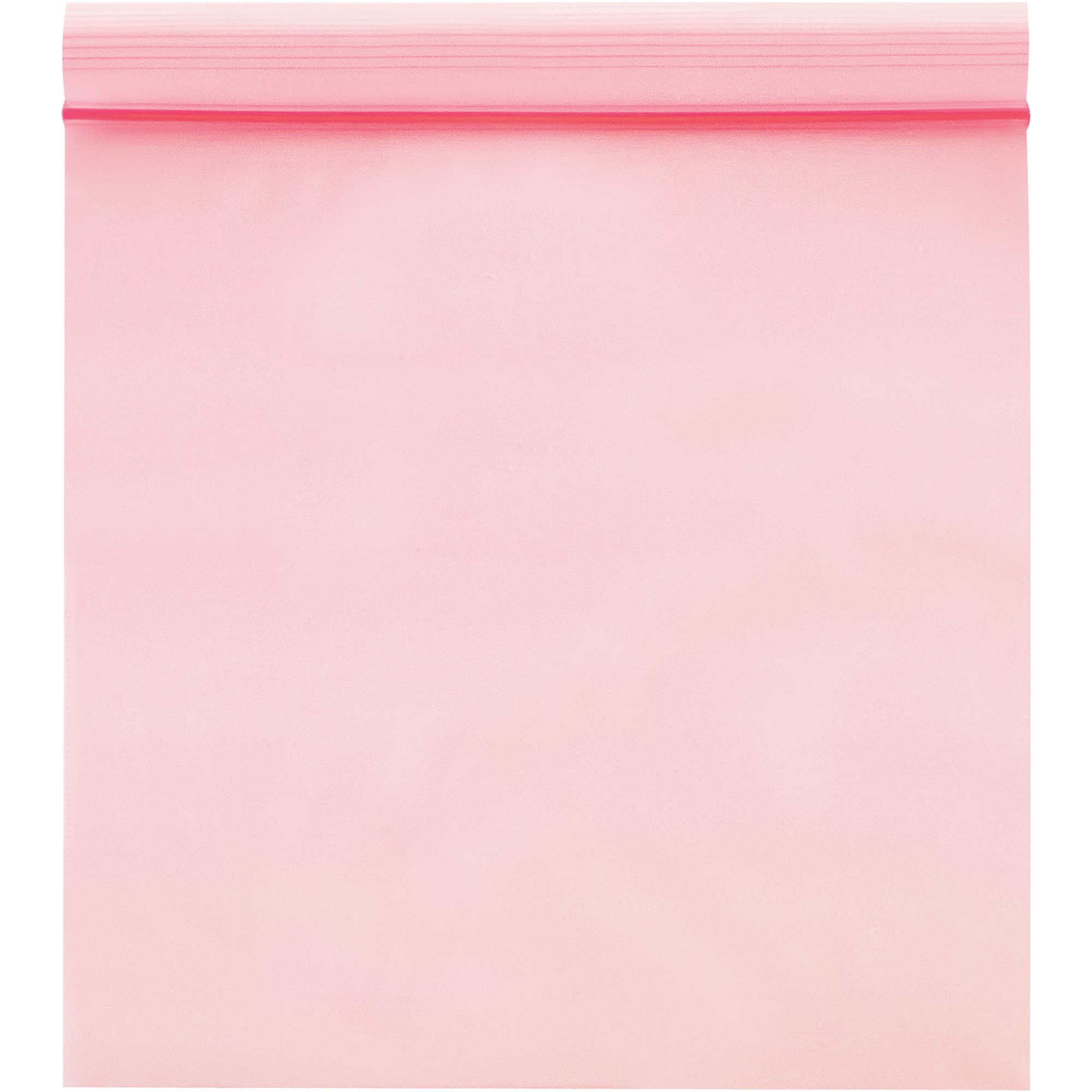 Boxes Fast BFPBAS2160 Anti-Static 4 Mil Reclosable Poly Bags, 9'' x 12'', Pink (Pack of 1000)