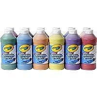 Crayola lavable Pintura, surtido, 16 oz, 12 por juego (549718)
