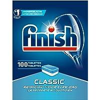 Finish Classic Regular Vaatwastabletten - 100 Stuks - Verwijdert Hardnekkige Vlekken