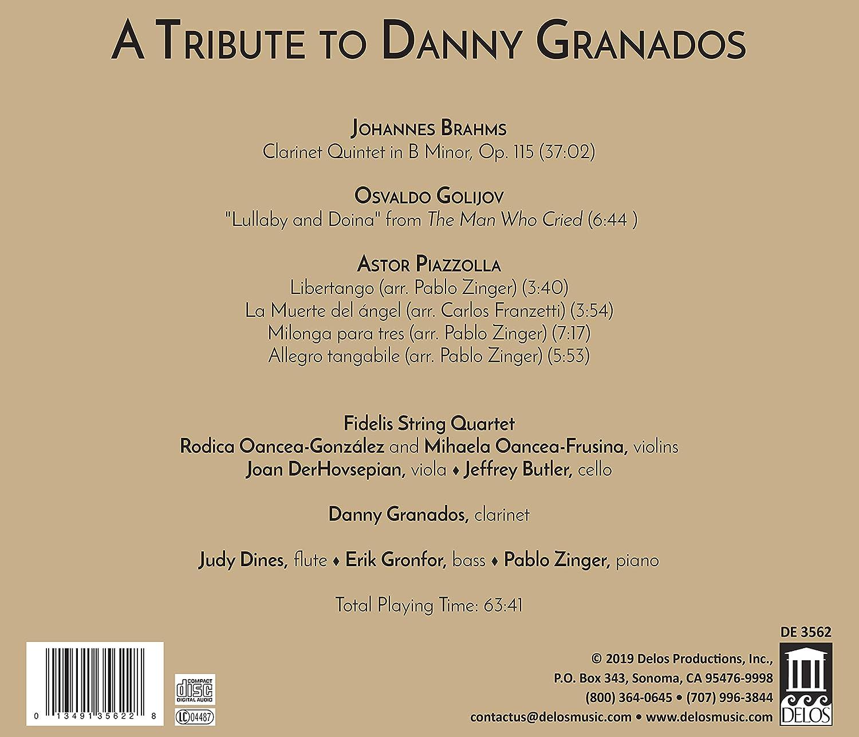 Fidelis String Quartet, Danny Granados, Johannes Brahms