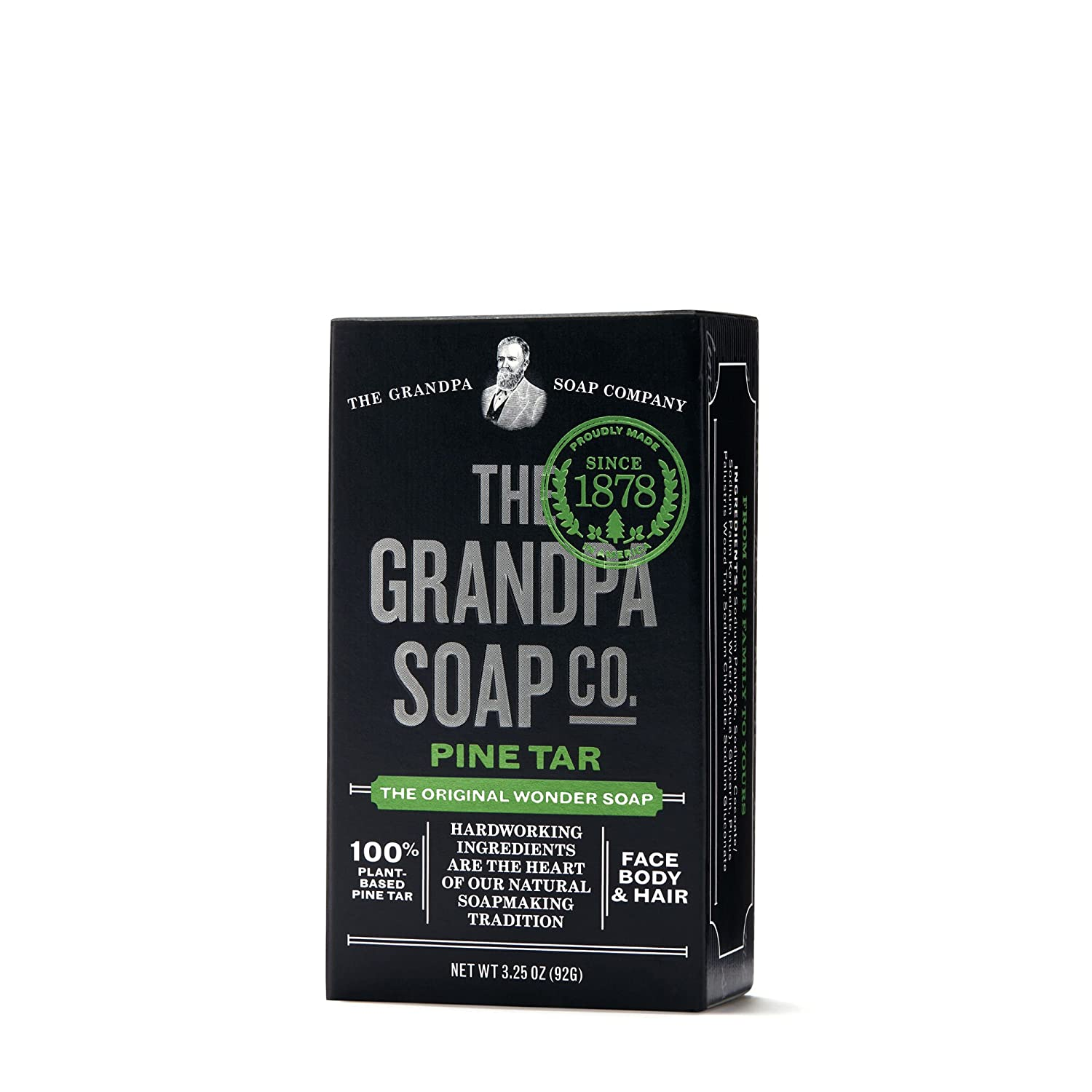 Pine Tar Soap 3 25 Oz Bar 6 Pack Amazon Co Uk Business Industry Science