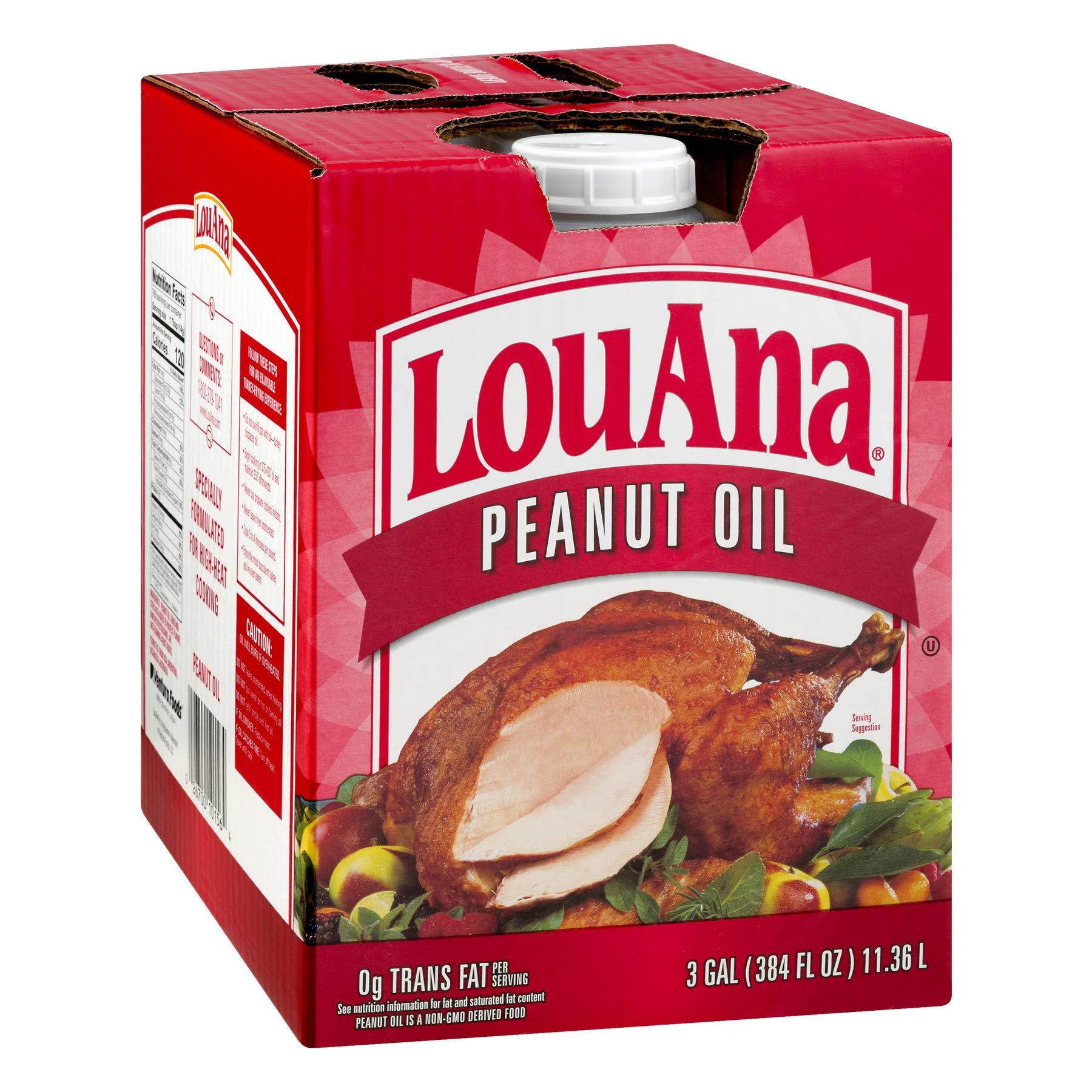 LouAna Peanut Oil, 3 Gallon - Pack of 1 by LouAna