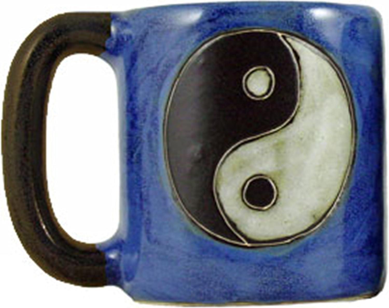 Mara Stoneware Mug - Yin Yang- 16 oz