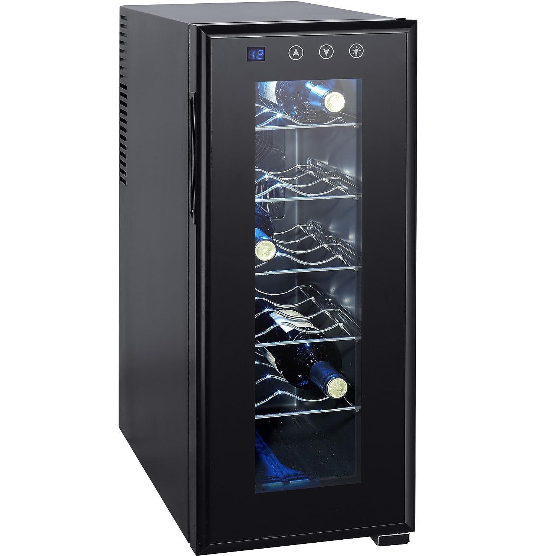 Syntrox Germany 12 Flaschen Digitaler Getränkekühlschrank ...