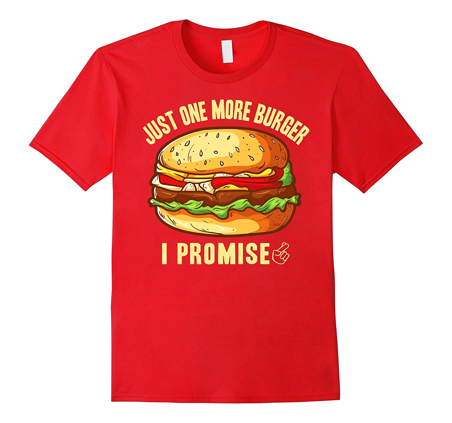 JUST ONE MORE BURGER - I PROMISE-Art