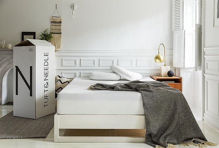Tuft & Needle Mattress, King Mattress With T&N Adaptive Foam, Sleeps Cooler & More Supportive Than Memory Foam Mattress
