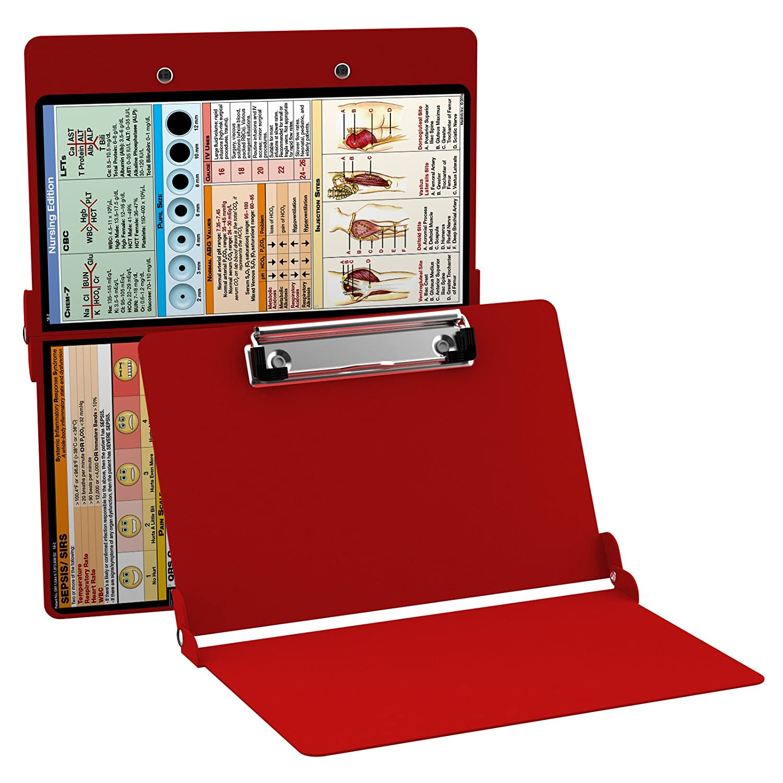 WhiteCoat Clipboard- Red - Nursing Edition WhiteCoat Clipboards 7028-NUR
