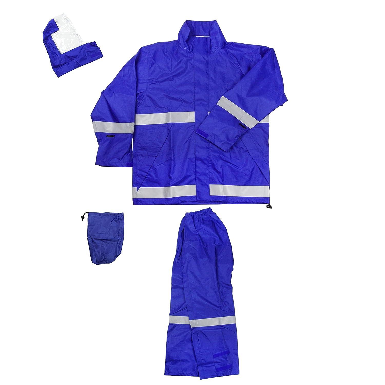 フナハシ ゴールドタイガー レインウェア ライジングレイン ブルー LL B01BK739O0 LL|ブルー ブルー LL