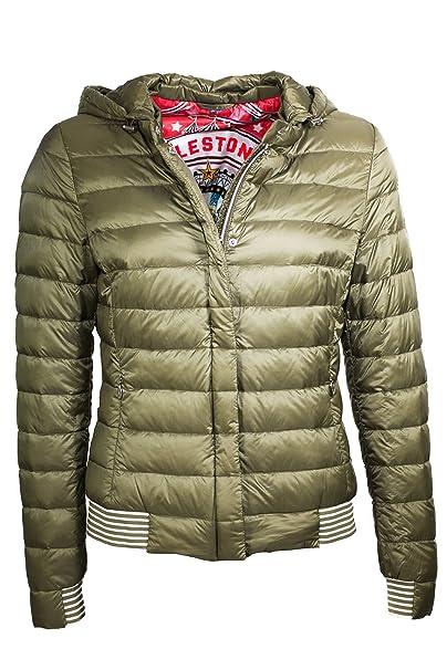 best sneakers c3743 3d6ce MILESTONE - Giacca - Piumino - Donna: Amazon.it: Abbigliamento