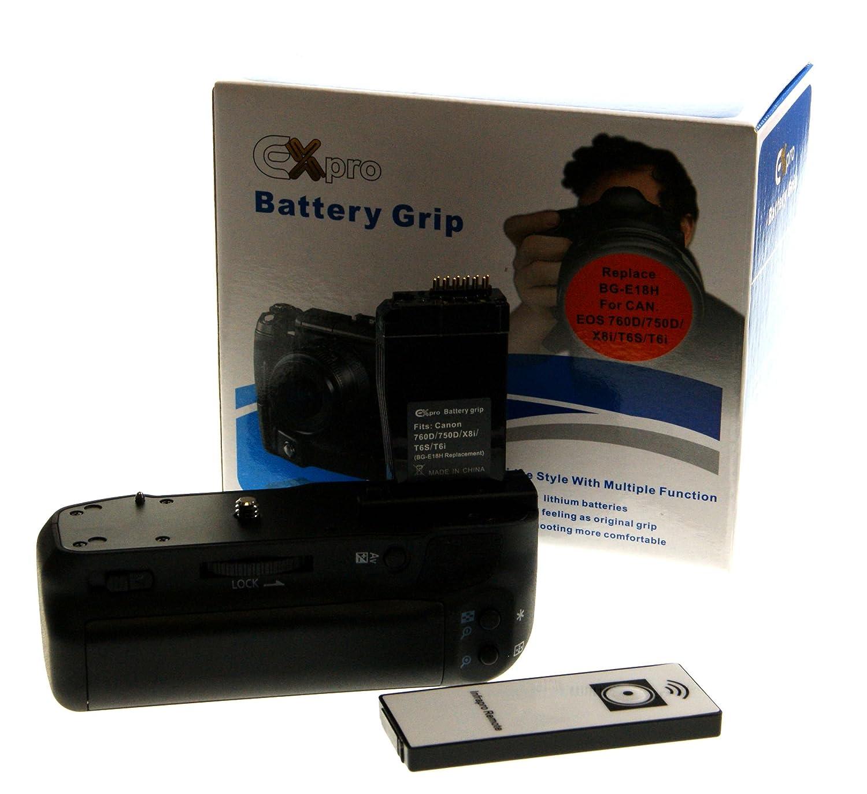 EX-Pro - Empuñadura de batería Canon BG-E18 BG-E18H (LP-E17) serie ...
