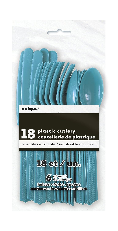 2,13 m Unique Party 50026 Orange Nappe Ronde en Plastique